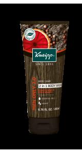 50% Off Men's Blood Orange and Black Pepper Body Wash & Shower Foam - $7 + FS
