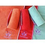 Red Yoga Towel $9.99 w/ Free Prime Shipping on Amazon.com