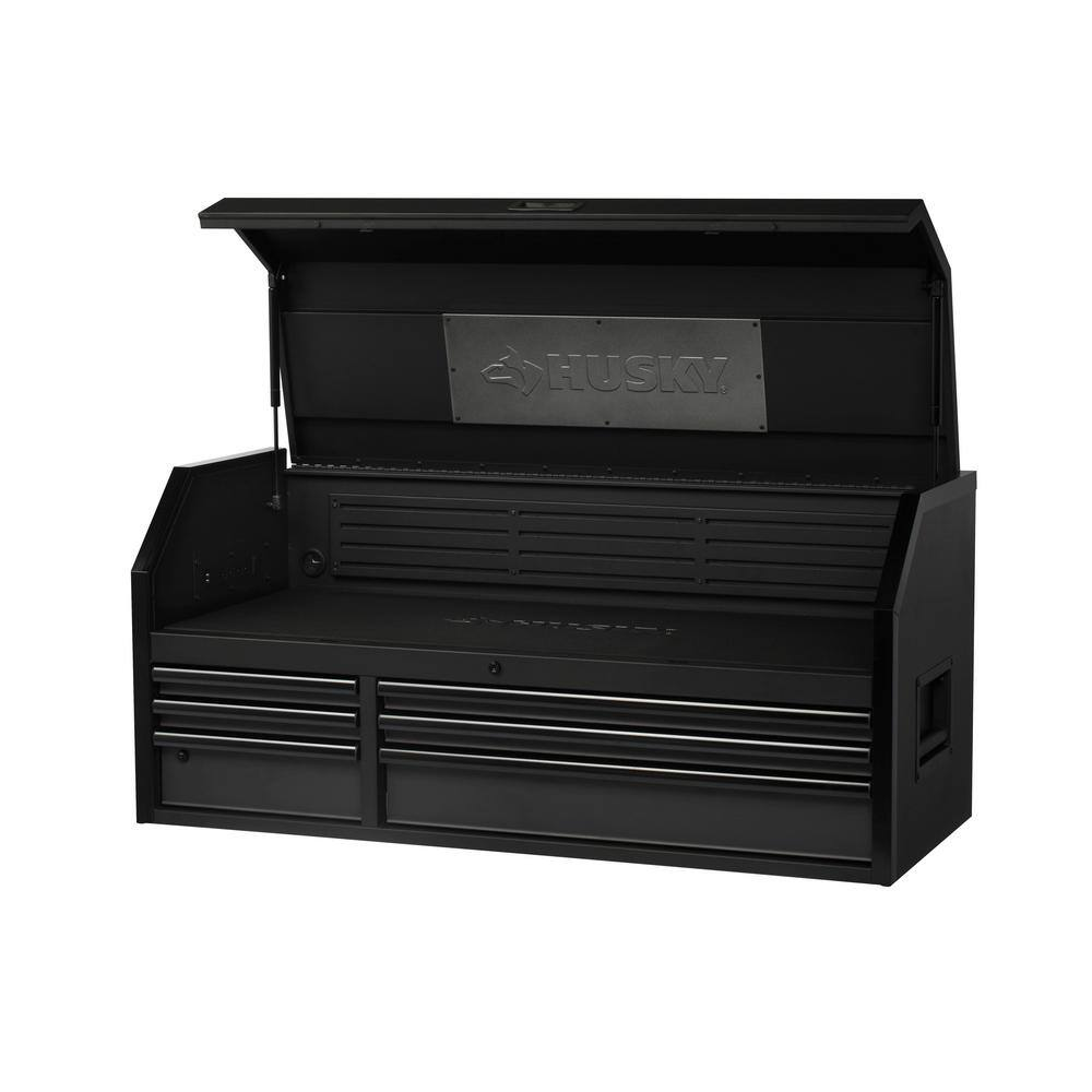 """Husky Industrial 52""""x22"""" 9-Drawer Rolling Cabinet Tool Chest (Black) $449 & More + Free Store Pickup"""