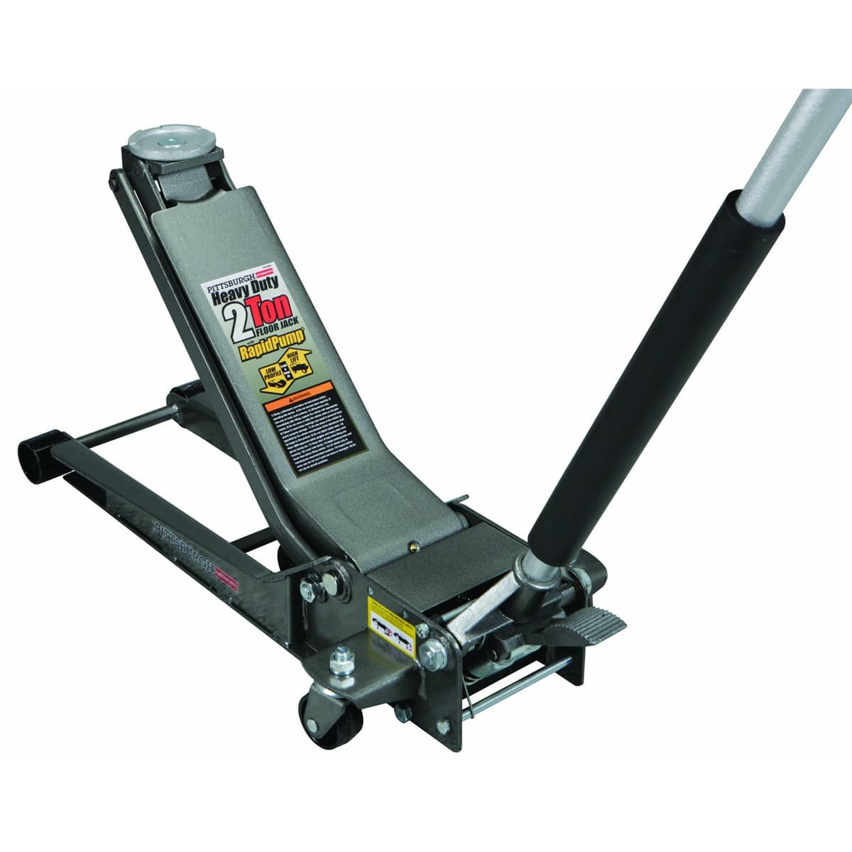 YMMV: Harbor Freight 2 Ton Low Profile Long Reach Steel Floor Jack $99.99 on clearance