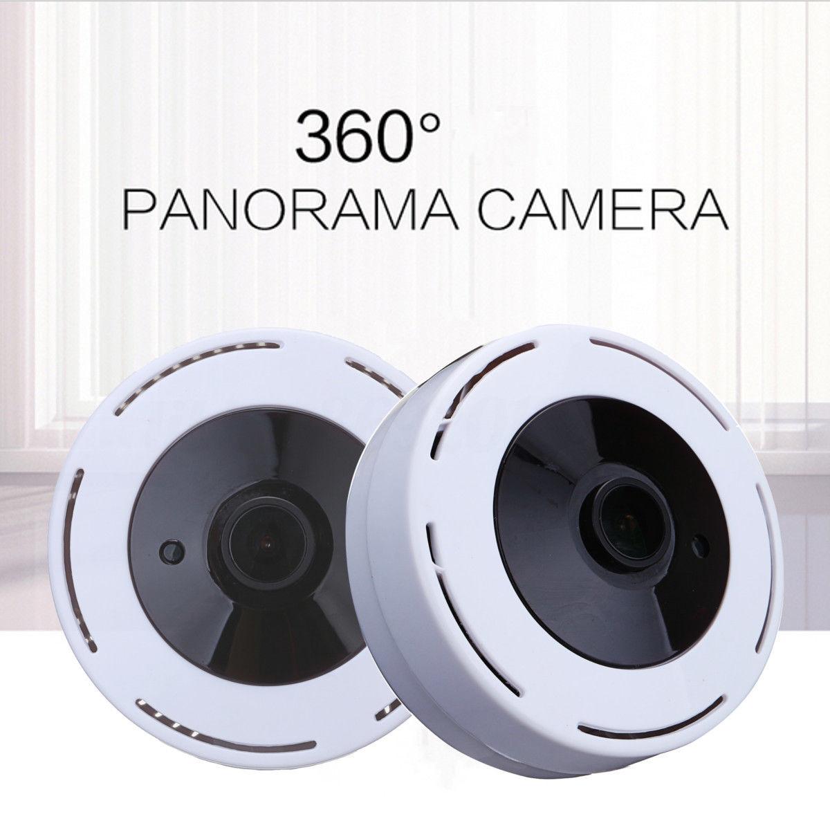 20% off- Mini 360 Degree Panoramic Wireless Wifi IP Fisheye Camera Two Way Audio 960P HD $23.93