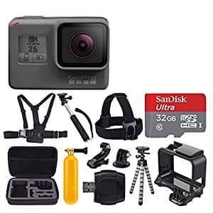 GoPro Hero6 Black + Bundle - $449 @ Amazon