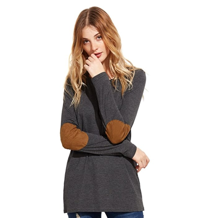 ROMWE long sleeve tee $5.99+free shipping with Amazon prime