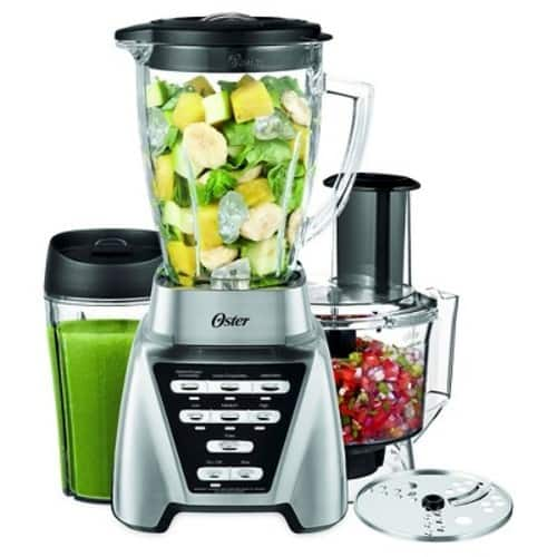 Oster® Pro 1200 Blender Plus Smoothie Cup &  Food Processor - Brushed Nickel-BLSTMB-CBF-000 $59.38