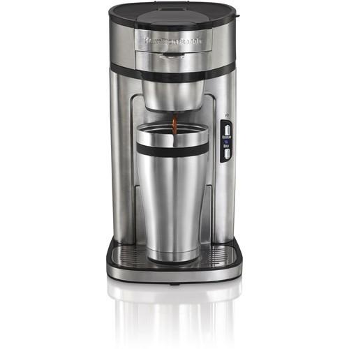 Hamilton Beach 49981A Single Serve Scoop Coffee Maker $29.96