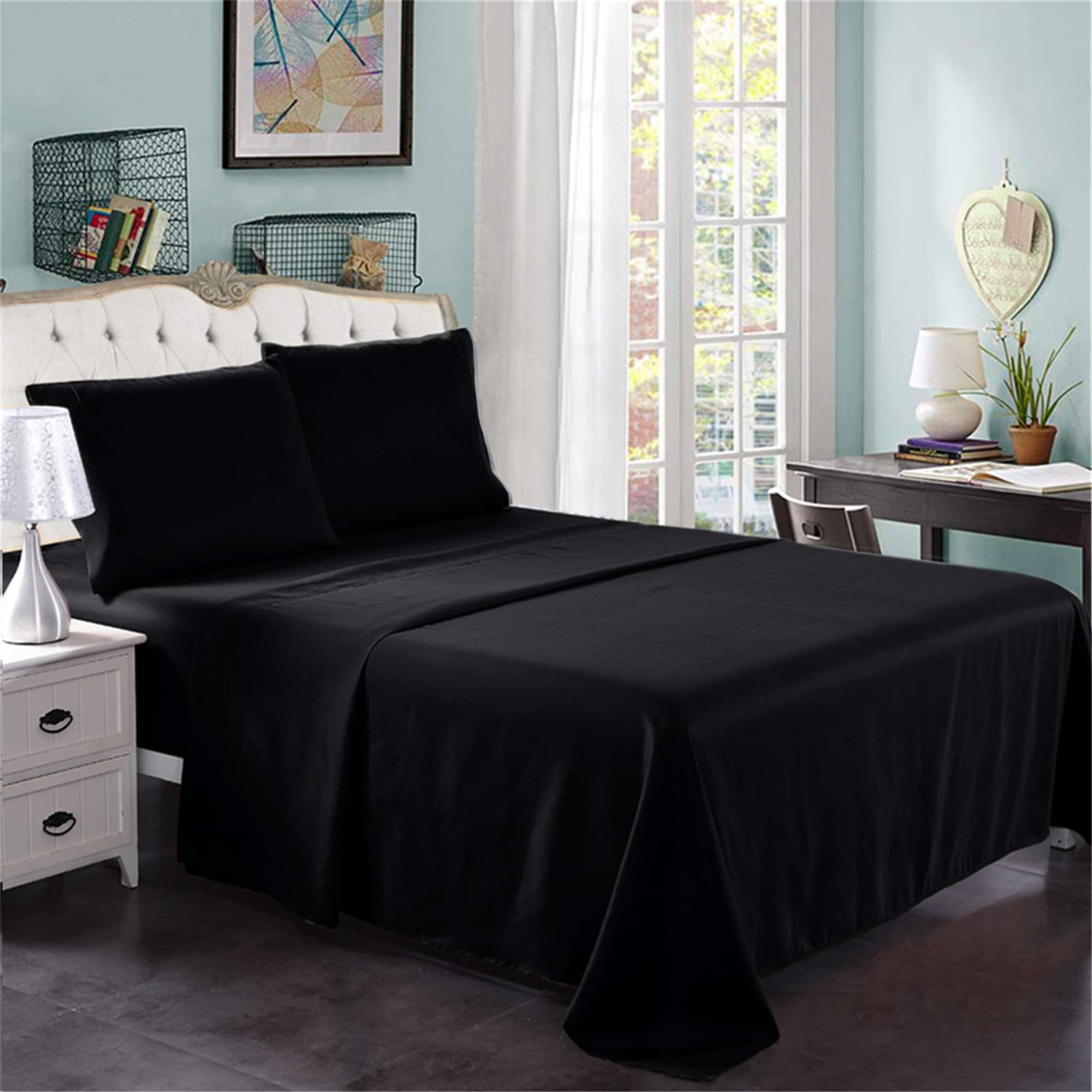 Extra Soft Wrinkle Resistant Hotel Luxury Bed Sheets (4 Piece set Queen) $16