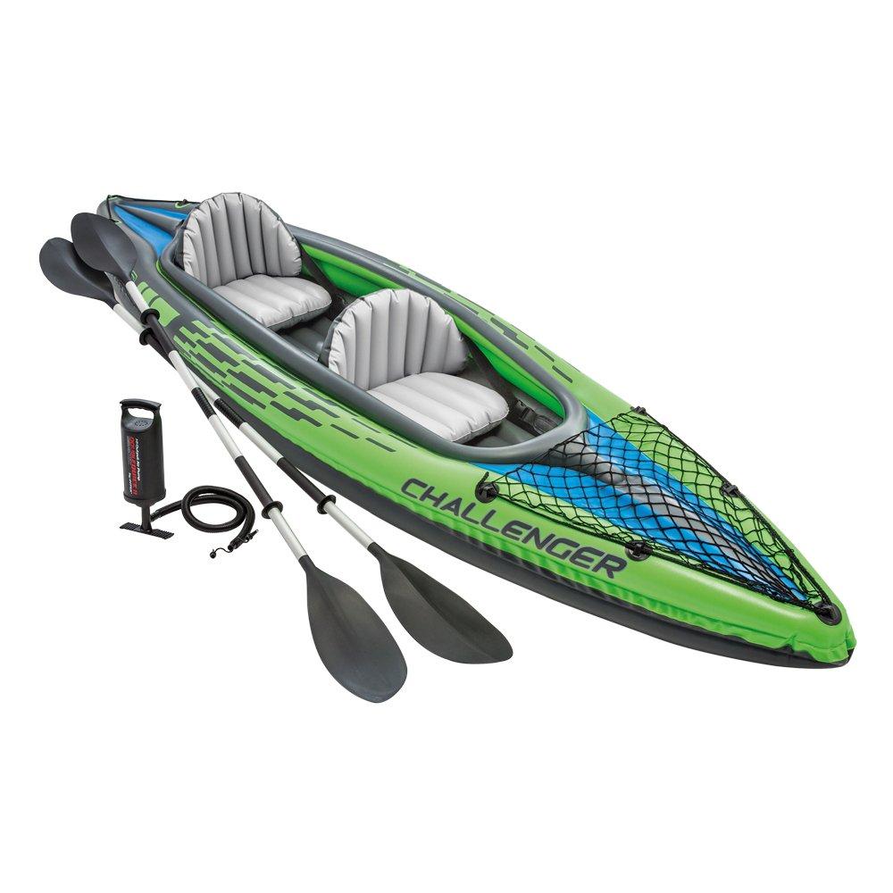 Intex Challenger K2 Kayak, 2-Person Inflatable Set $69.99