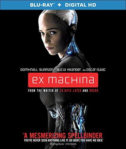 Ex Machina (Blu-Ray + Digital HD) - $4.99 (FS with Prime) at Amazon