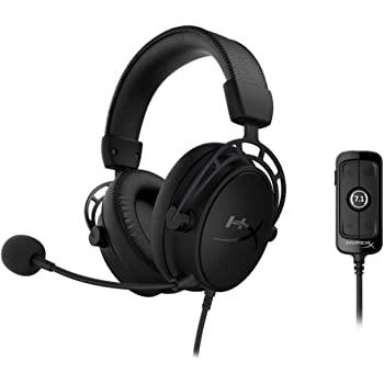 HyperX Cloud Alpha S 7.1 Gaming Headset - Blackout Color - $109.99 FS @ Amazon