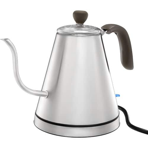 Caribou Coffee - 0.8L Electric Kettle - Stainless Steel for $19.99 $60 OFF