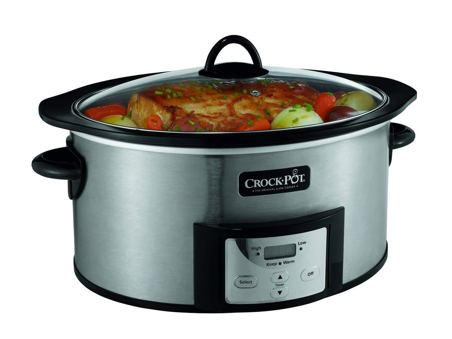 6 quart progammable Crock-Pot with Stove-Top Browning $38.4