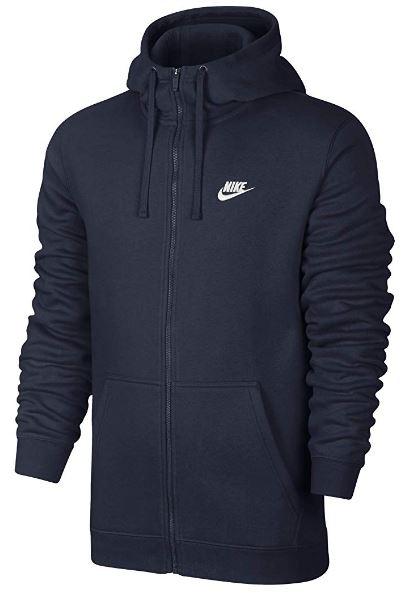 NIKE Sportswear Men's Full Zip Club Hoodie @ Amazon $27.50