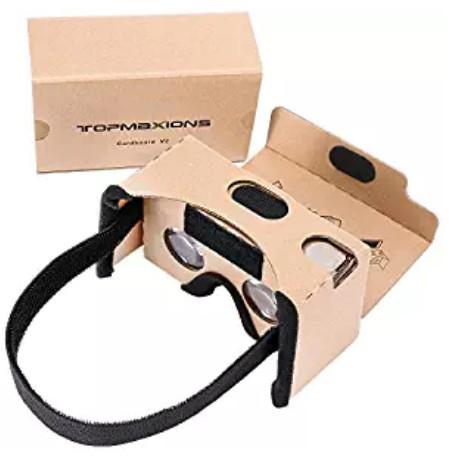 Google Cardboard 3D Virtual Reality DIY VR Headset $4.9+FS @Amazon