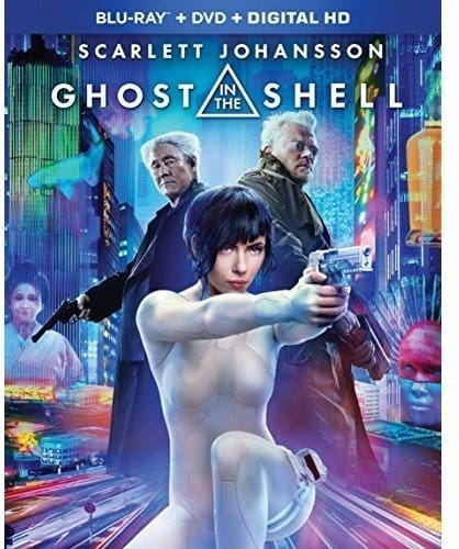 Ghost in the Shell (2017) (Blu-ray + DVD + Digital) $5.99