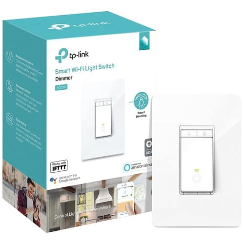 Kasa Smart Dimmer Switch by TP-Link (HS220) $22.99