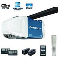 Home Depot Deal: Chamberlain HD950WF 1-1/4 HPS Garage Door Opener with MyQ and Battery Backup $198.00 or $178.20 AC +TAX