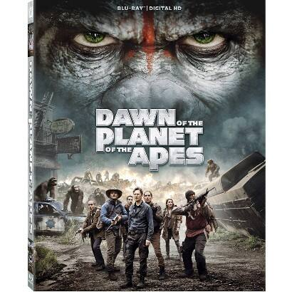 Dawn of the Planet of the Apes Bluray - Walmart B&M as Low as $5