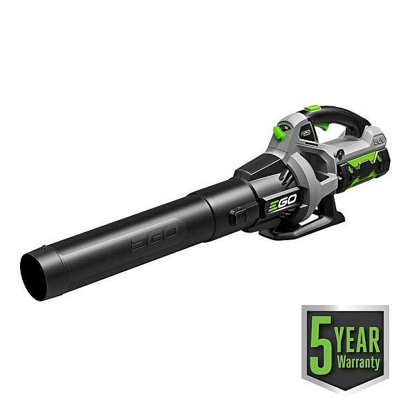 Ego 110 MPH 530 CFM 56-Volt Lithium-ion Cordless Electric Blower w/ 2.5Ah Battery and Charger for $149 model LB5302