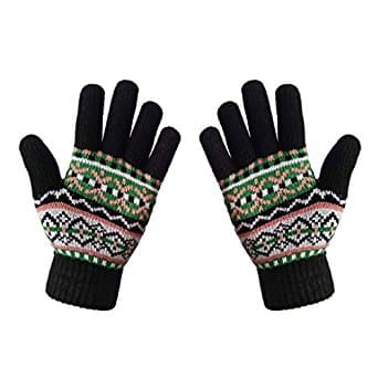 50%OFF LETHMIK Womens Colorful Thick Knit Gloves+$5.99+Free Shipping @Amazon