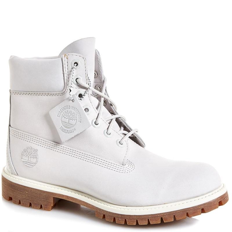 Timberland 6-inch Mens Premium (White/Gum) Boot $89.99 (Retail $190) + FREE SHIPPING