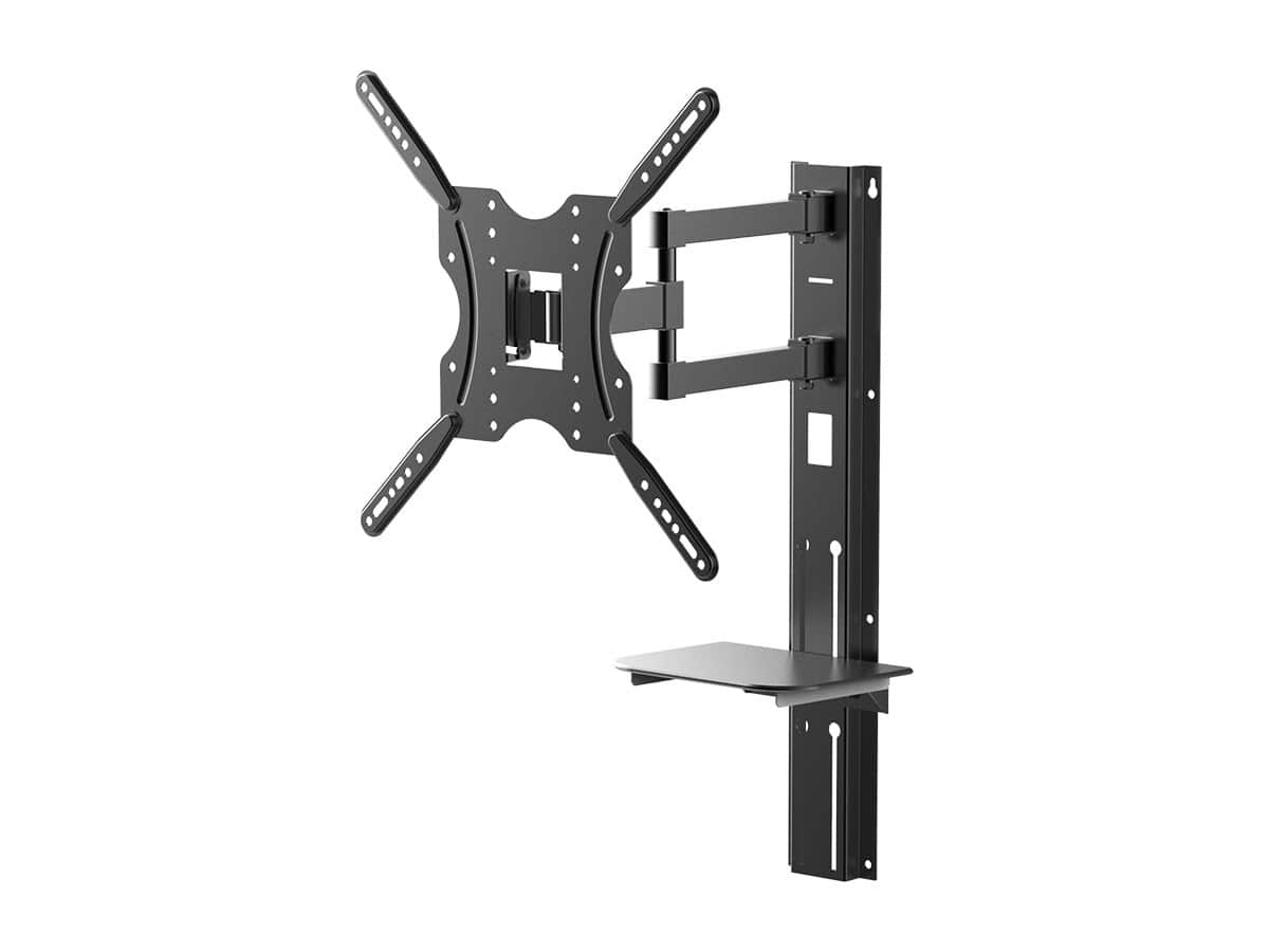 Full-Motion Articulating TV Wall Mount Bracket For TVs 32in to 55in, Max Weight 66lbs $10.94