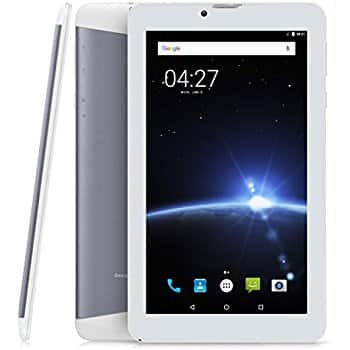 7 inch Phablet Unlocked 3G/2G, Quad Core 1.3 GHz Android 7.0 $49.99 @Amazon