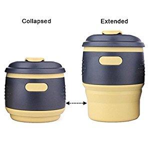 XREXS Leak-proof Lid Collapsible Coffee Mug for $5.99 @Amazon