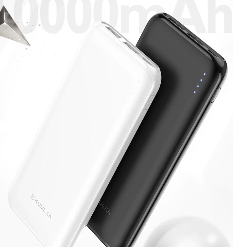 KUULAA Power Bank 10000 mAh Portable Charging Poverbank $8.38