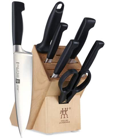 Zwilling J.A. Henckels Four Star 8-Pc Cutlery Set $89.99