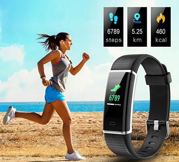 14 Sports Mode Fitness Watch Activity Tracker $21.59