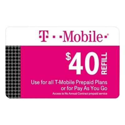 Target T-Mobile, Tracfone, Cricket Prepaid Plan Cards: Buy one get one 30% Off (Email Delivery)