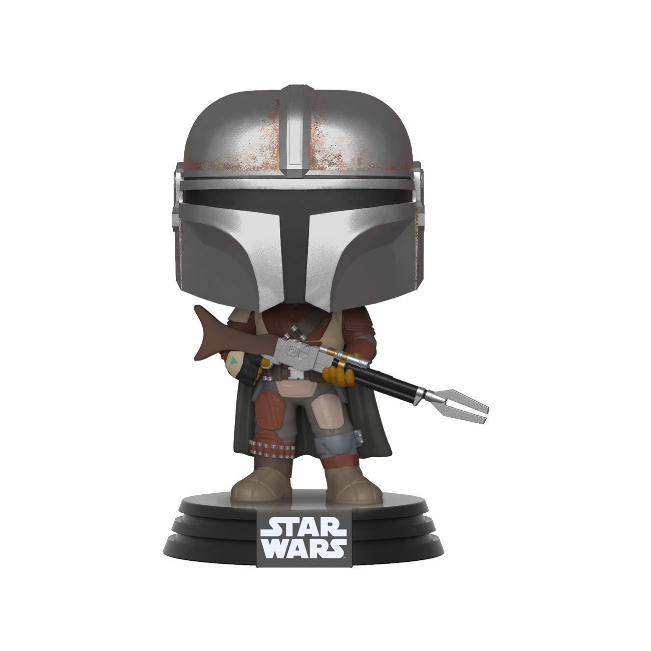 Funko Pop! Star Wars: Mandalorian - The Mandalorian, Bobble-Head, 3.75 inches @ Amazon & Walmart $8.78+tx