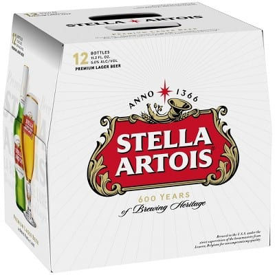 12 Pack of Stella Artois Beer - $7 After Two Rebates (Possibly $2 After Three Rebates) at Target B&M - YMMV Based on State of Residence