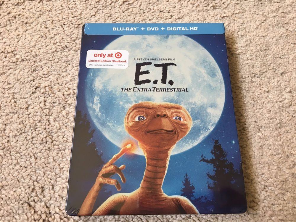 E.T. - The Extraterrestrial Bluray/DVD/Digital Copy Steelbook - $10.40 at Target B&M - YMMV