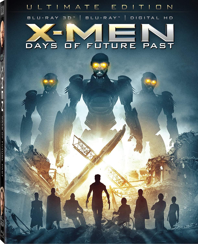 X-Men Days of Future Past Ultimate Edition 3D Bluray/Bluray/DC - $5 at Biglots B&M - YMMV