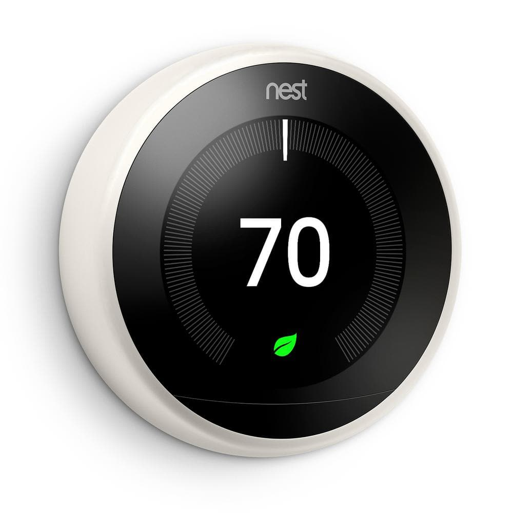 Nest Thermostat 3rd Generation White for $199