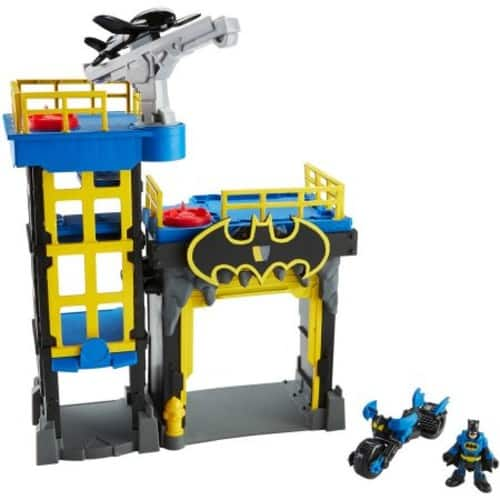 $4.91 Off Imaginext DC Super Friends Streets of Gotham City Tower Playset $24.97