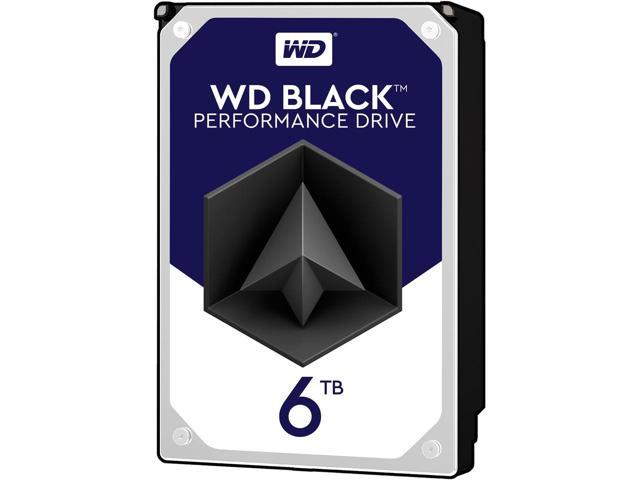 WD Black 6TB Performance Desktop Hard Disk Drive - 7200 RPM SATA 6Gb/s 128MB Cache 3.5 Inch - WD6002FZWX $199.99