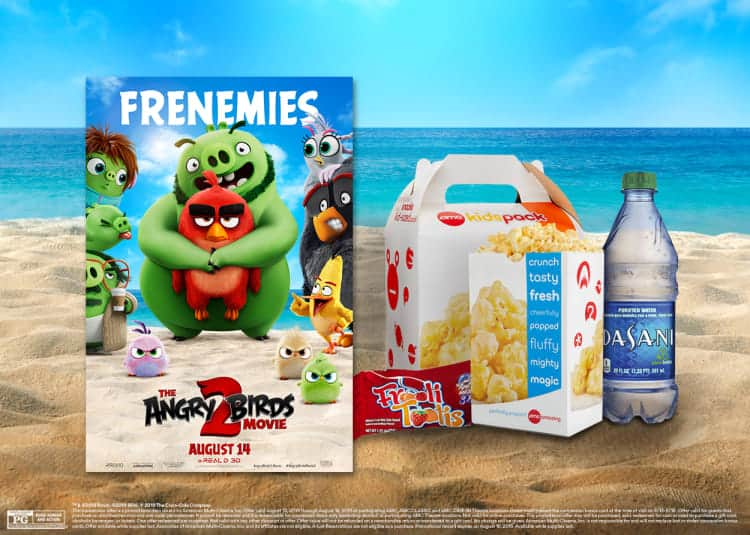 AMC Theatres: Buy two tickets for THE ANGRY BIRDS MOVIE 2 get FREE KidsPack!