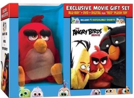 The Angry Birds Movie (Blu-ray + DVD + Digital HD + Plush Doll) (Walmart Exclusive) $9.96