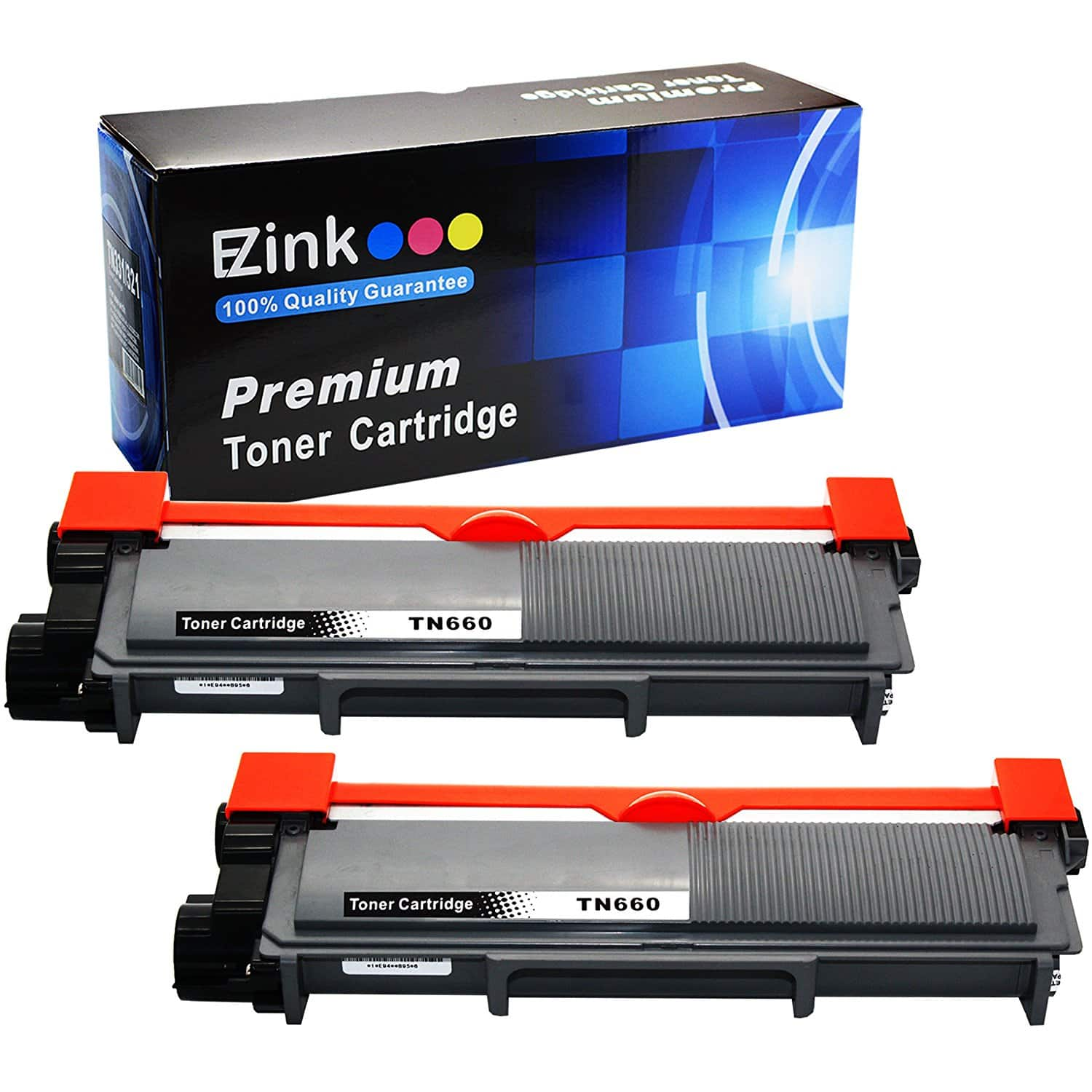 2 Pack Toner for Brother TN660 TN-660 brand E-Z Ink $13.23 (Amazon Lightening Deal)