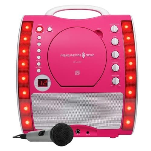 YMMV - Target B&M - Singing Machine SML343P Karaoke System $25