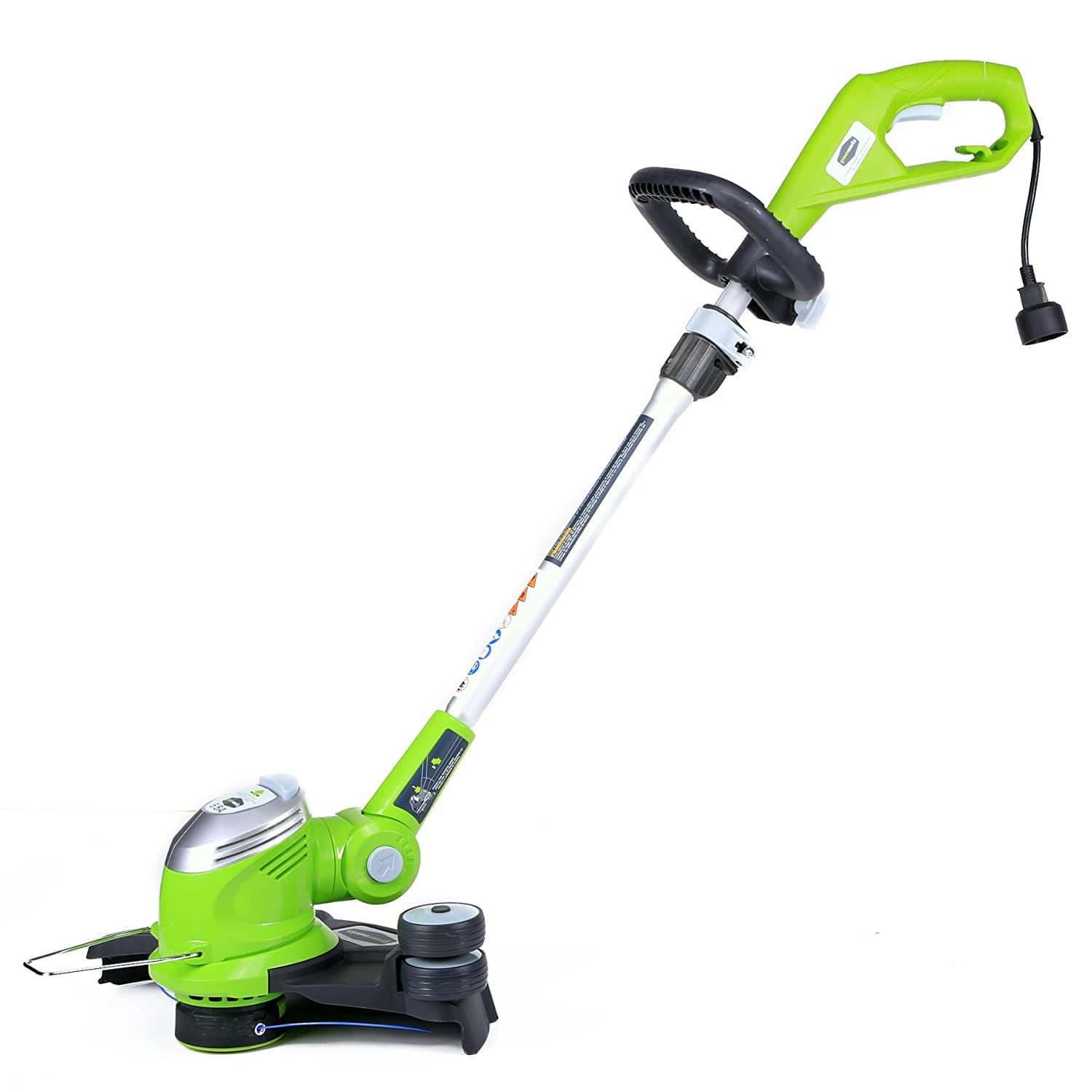 "GreenWorks 21272 5.5Amp 15-Inch Corded String Trimmer [5.5 Amp, 15"" Cutting Path] $26.24"