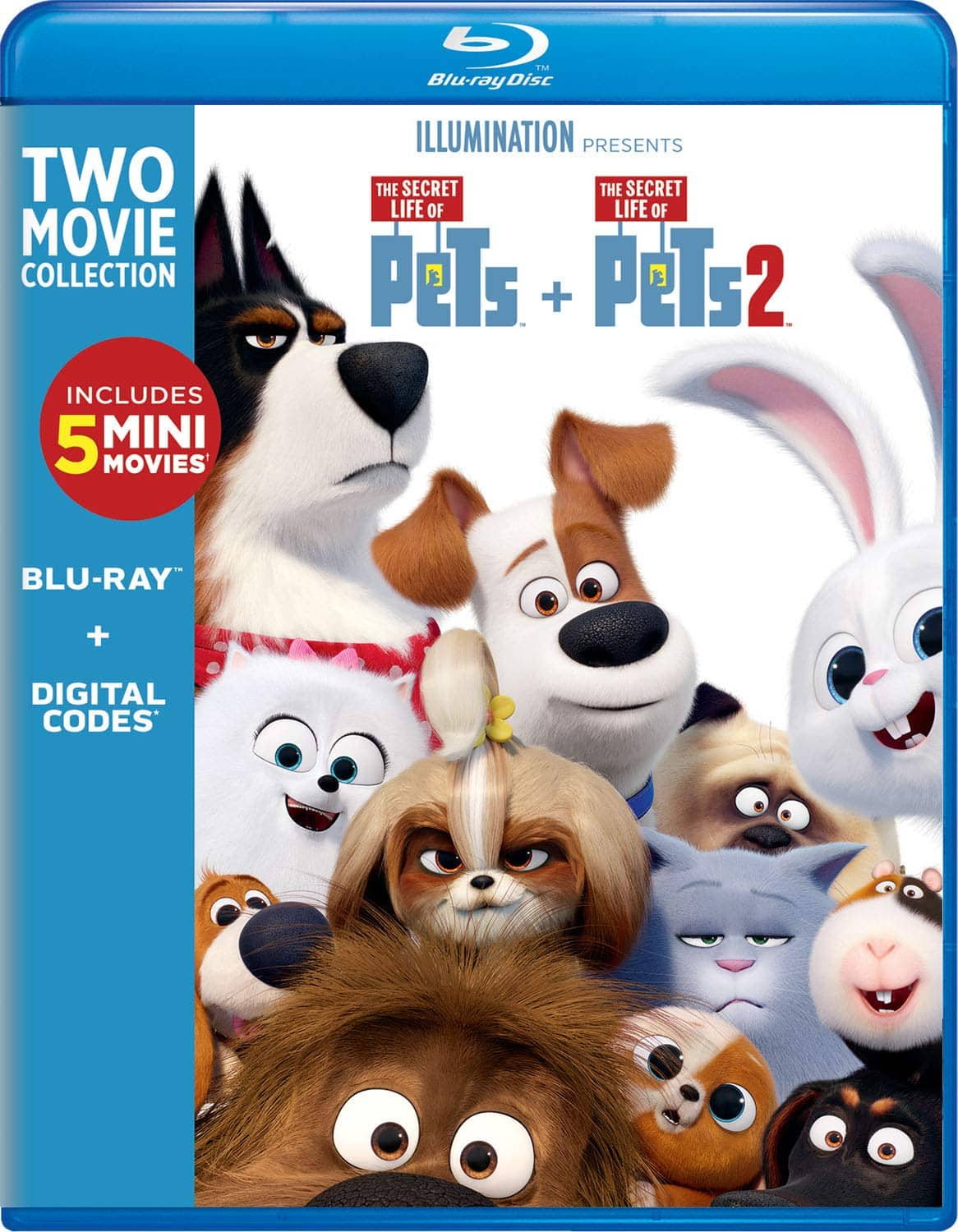 The Secret Life of Pets: 2-Movie Collection blu-ray $15