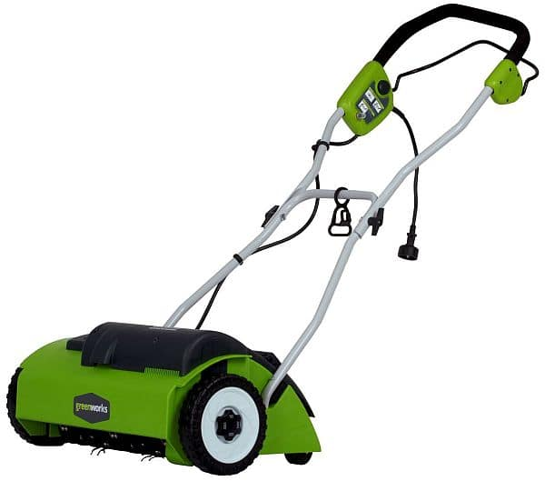 "GreenWorks 27022 10 Amp 14"" Corded Dethatcher [Corded Dethatcher] $70.05"