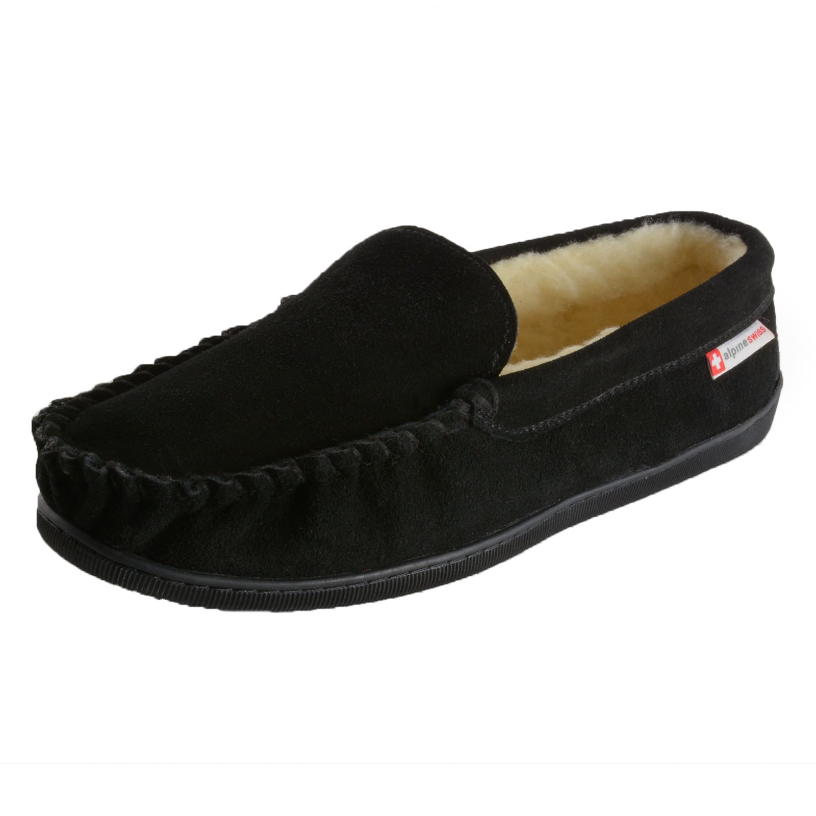 [61% OFF] Alpine Swiss Men's Moccasin (Save $23.01) + Free Shipping $14.99