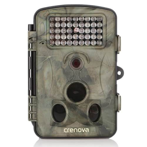 Trail Hunting Camera 12MP 1080P HD With Time Lapse 65ft 120° Wide Angle Infrared Night Vision $55.99