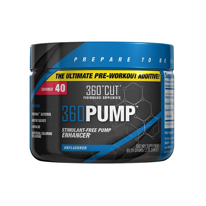 360CUT 360 PUMP Stimulant Free Pre Workout Additive - 40 Servings - Unflavored - $14.99