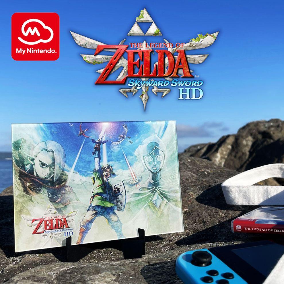 The Legend of Zelda™: Skyward Sword HD Acrylic Panel Art | Rewards | My Nintendo $0