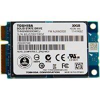 eBay Deal: Toshiba 30GB mSATA SSD SATA II 3 Gb/s MLC Internal Solid State Drive $17 +FS @ ebay.com